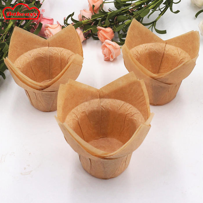 Unbleached Lotus Muffin Cups