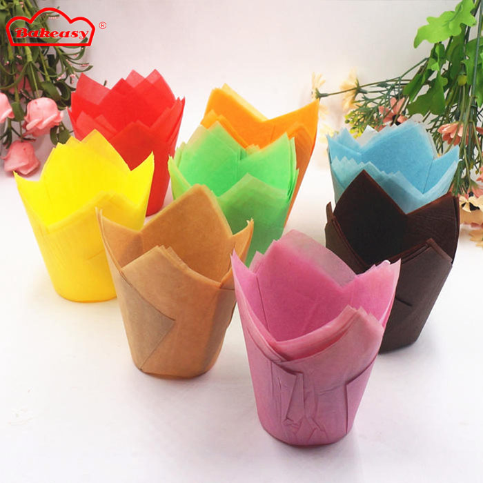Tulip Baking Cups (colored)