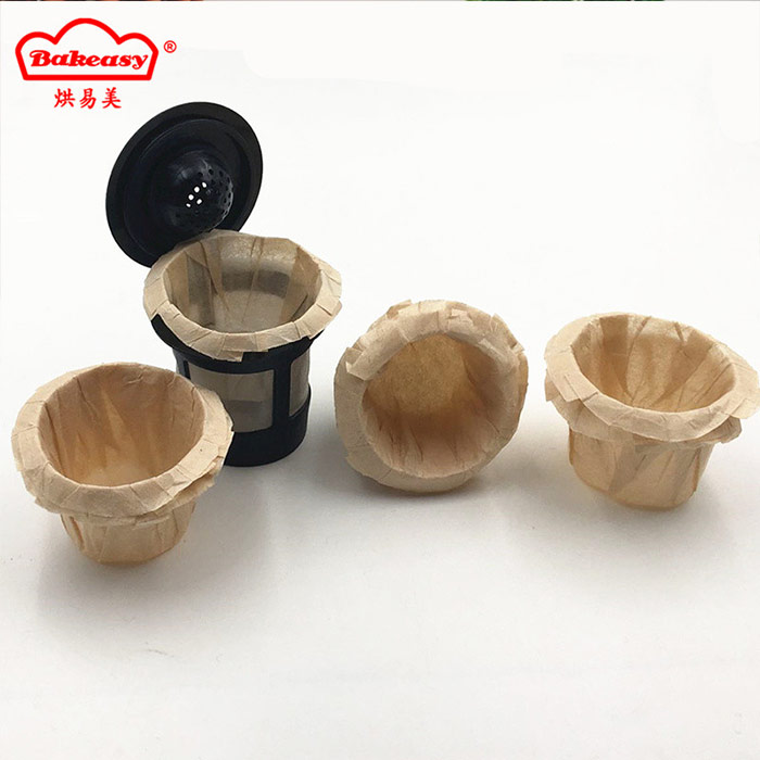 Unbleached Keurig Cup Coffee Paper Filter