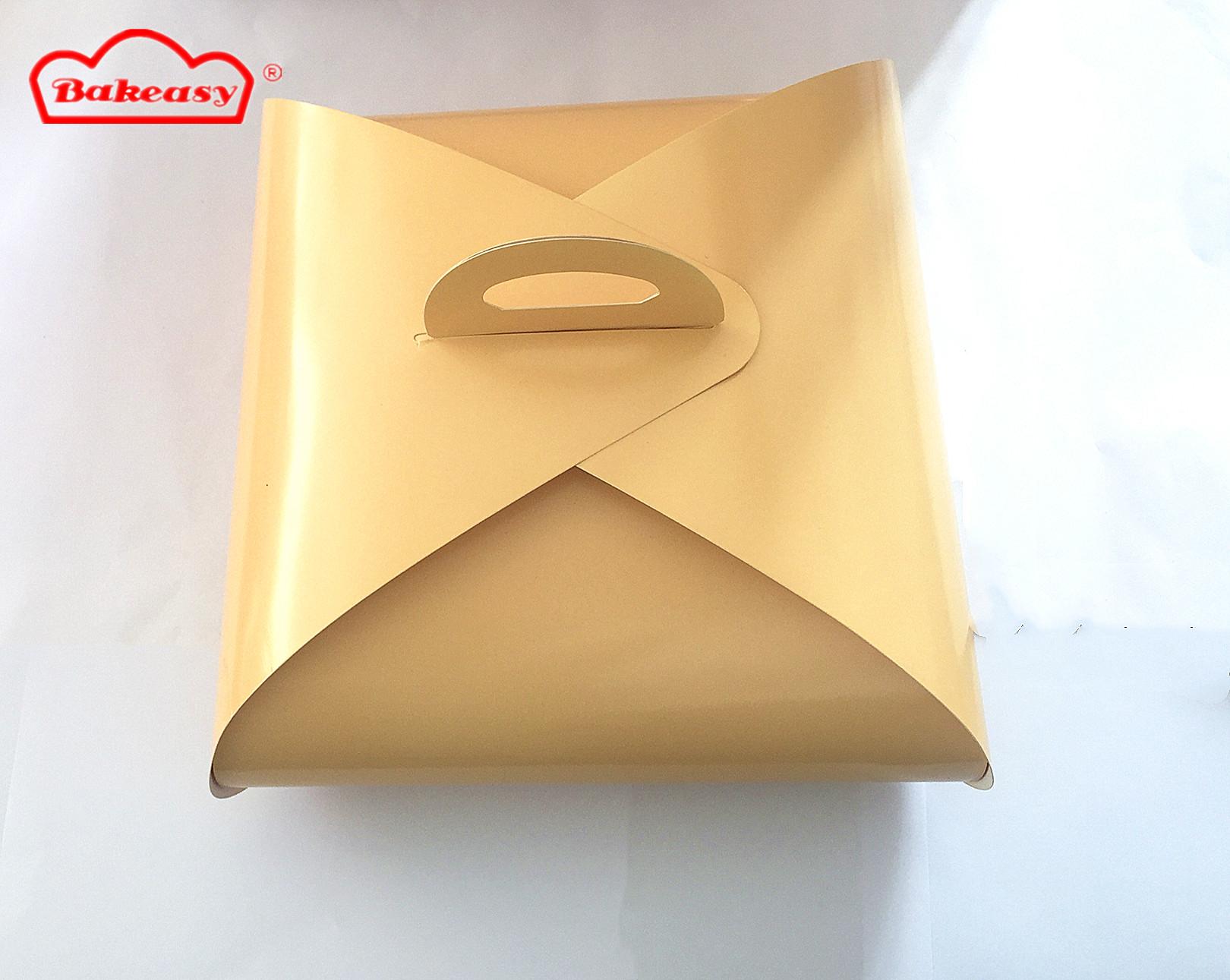 logo paper packaging custom cake box for cake