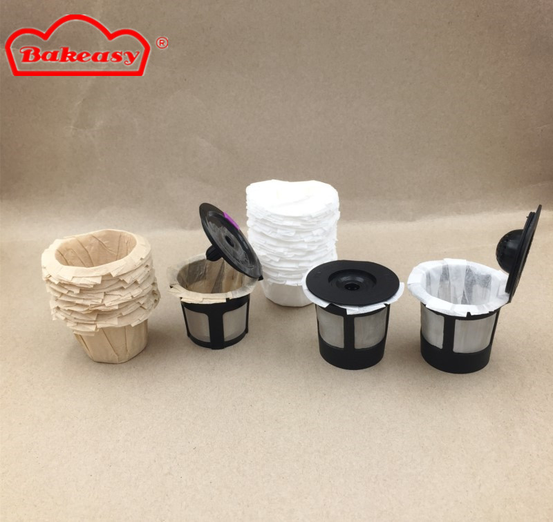 K-Cup Coffee Paper Filter White