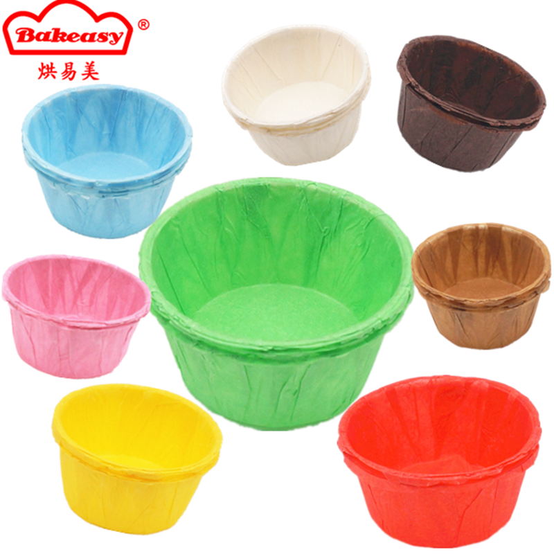 Colorful baking cup muffin liner