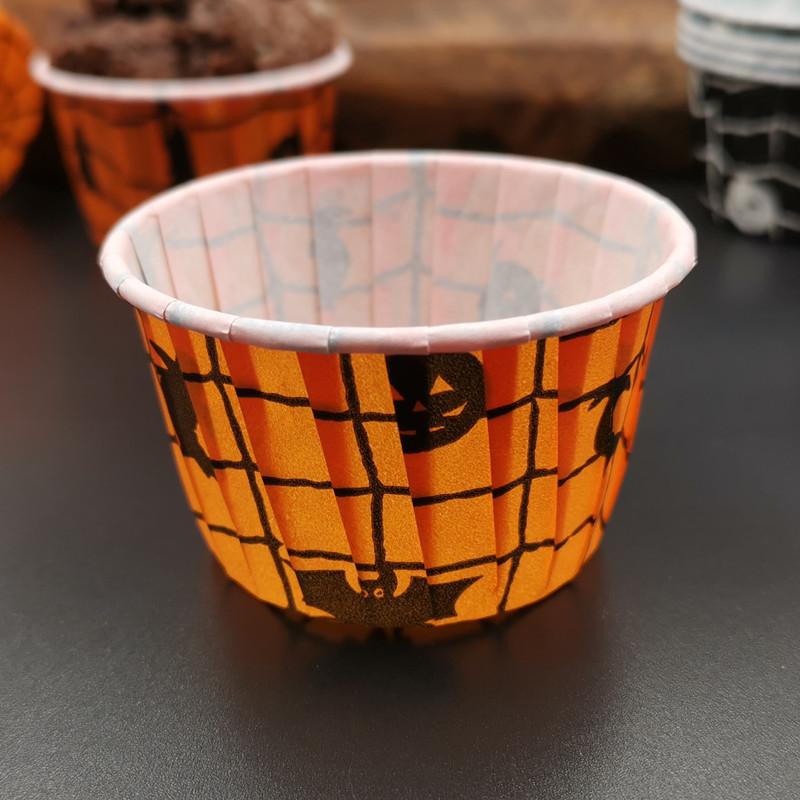 Halloween design cupcake cup