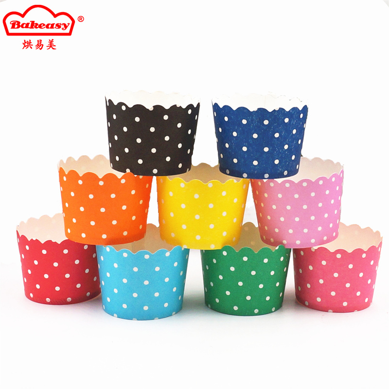 Printed baking cups