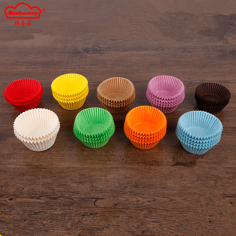 Printed cupcake cup