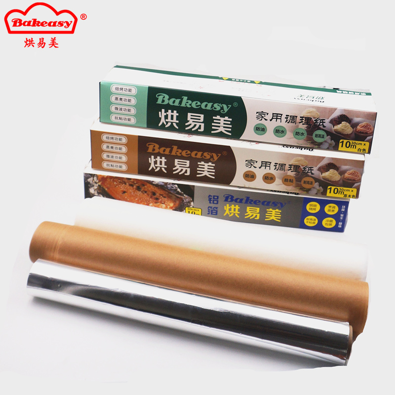 baking paper siliconized paper
