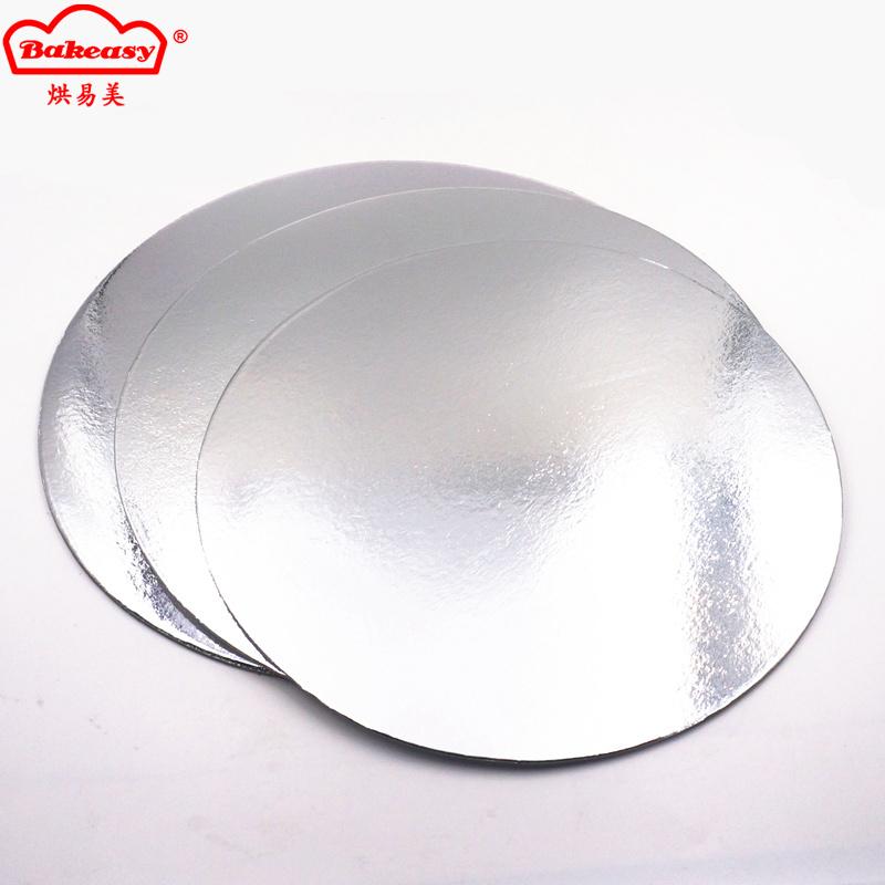2.5mm Silver paper cake board